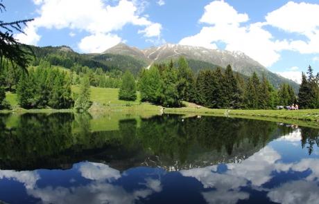 Schnadiger weiher Kaunertal Tirol