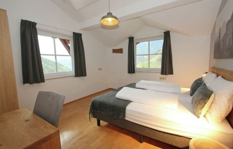 1 van de 4 slaapkamers vakantiehuis 10 personen