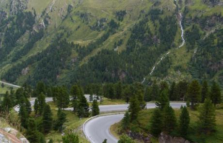 Route naar Kaunertalergletscher