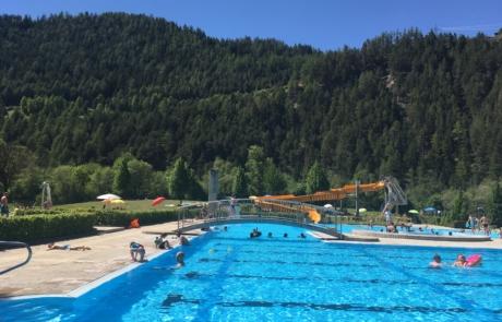 Zwembad Prutz nabij Fiss Ladis Serfaus